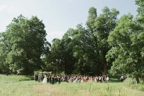 Blooming Hill Farm Outdoor Ceremony
