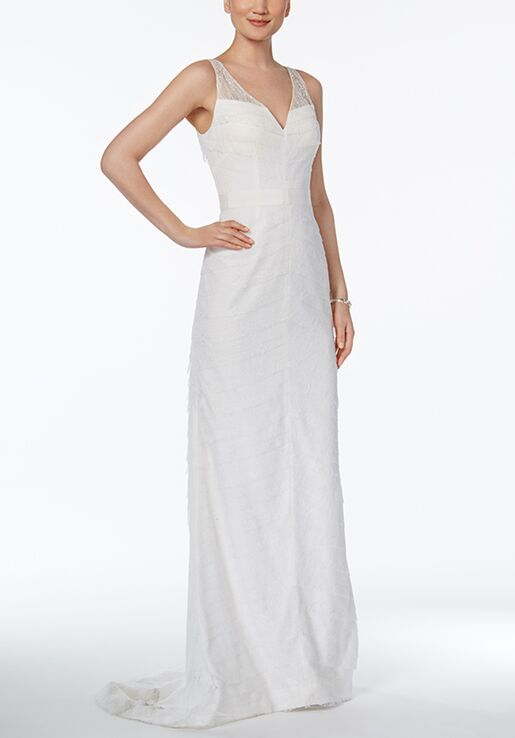 Adrianna Papell Wedding Dresses Adrianna Papell Tiered Lace Gown ...
