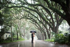 Romantic Rain Photo Op