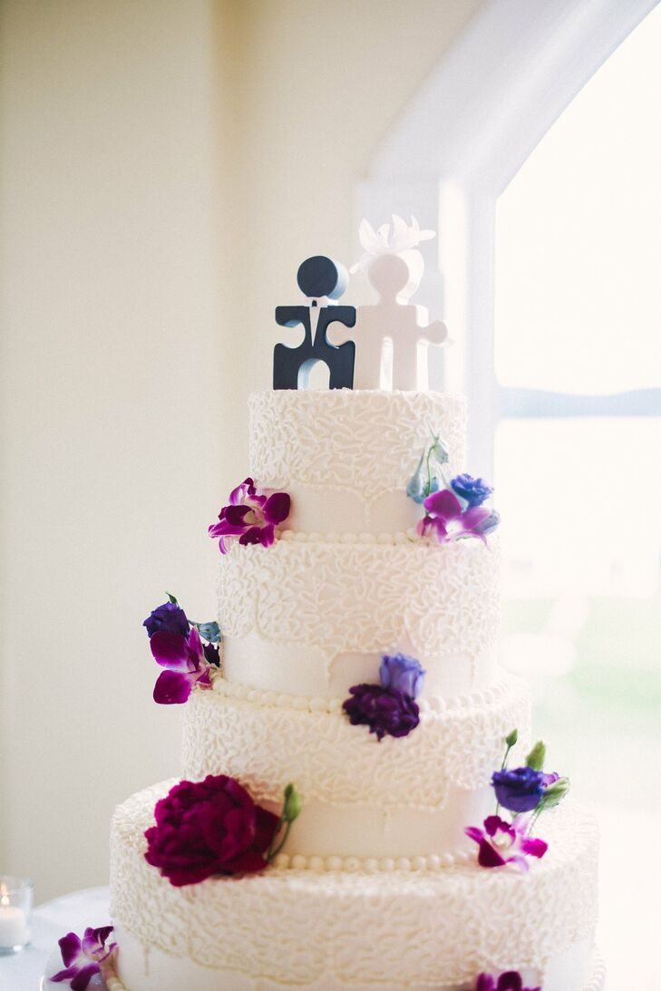 Puzzle Piece Cake Topper