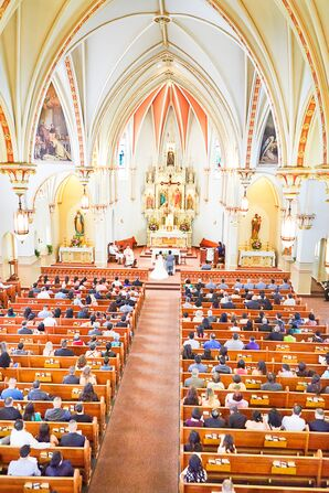 Wedding Ceremony, Ornate Church Venue