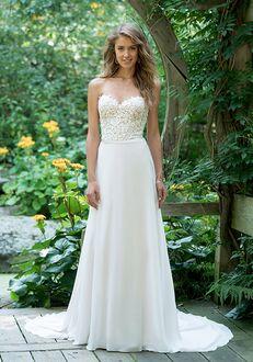 Lillian West 66019 A-Line Wedding Dress