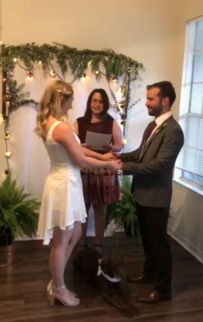 Amy Patrick, Wedding Officiant