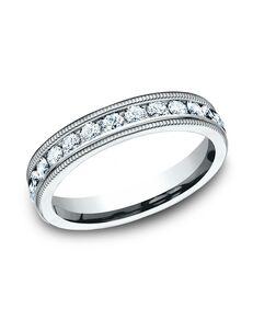 Benchmark 534550W White Gold Wedding Ring