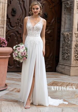KITTYCHEN TRINA, H2056 Sheath Wedding Dress