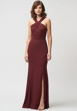 Jenny Yoo Collection (Maids) Kayleigh Halter Bridesmaid Dress