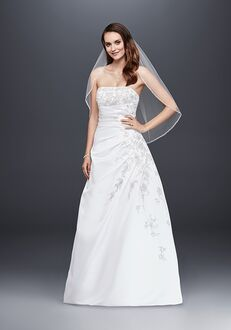 David's Bridal David's Bridal Style V9665 A-Line Wedding Dress