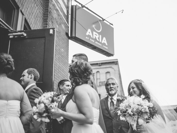 Aria Minneapolis Wedding Ceremony