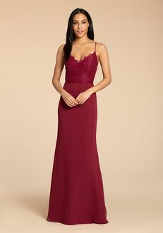 Hayley Paige Occasions 5957 V-Neck Bridesmaid Dress