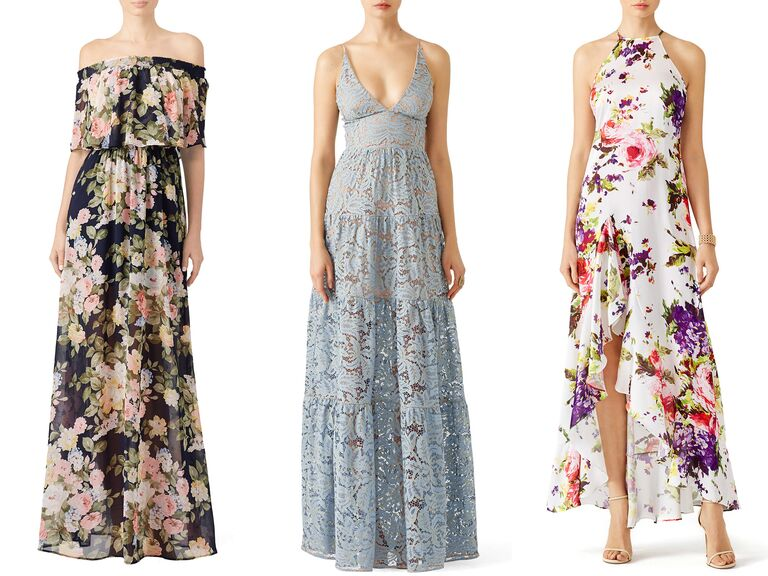 4955844efe When people think of maxi dresses, images of bohemian, flowy frocks often  come to mind—but there are also a variety of silhouettes and embellishments  that ...