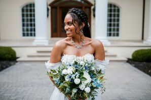 Bridal Portraits at The Estate at Cherokee Dock in Lebanon, Tennessee