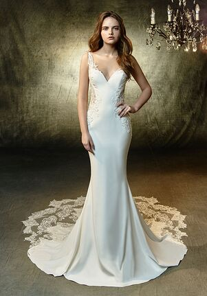Blue by Enzoani Laramie Mermaid Wedding Dress