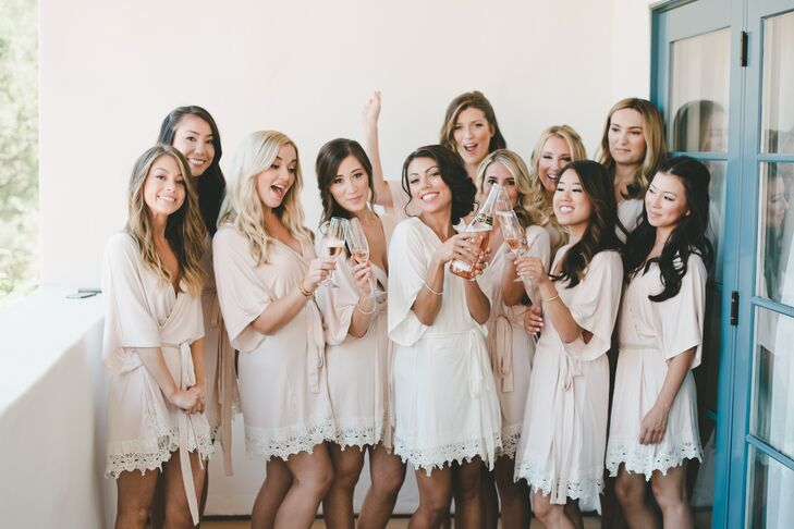 search for latest good quality best selection of Matching Bridesmaid Robes