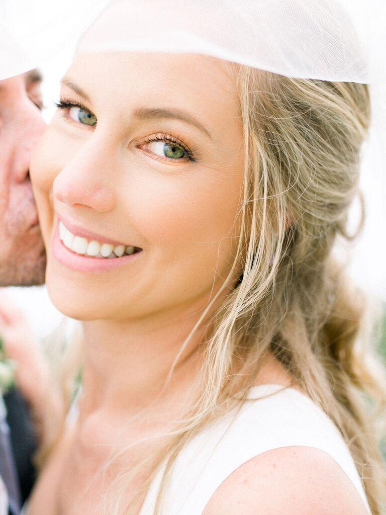 wedding makeup copper eyeshadow