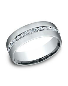 Benchmark CF717573W White Gold Wedding Ring