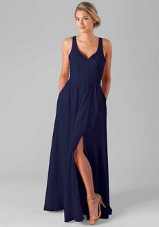 Kennedy Blue Riley V-Neck Bridesmaid Dress