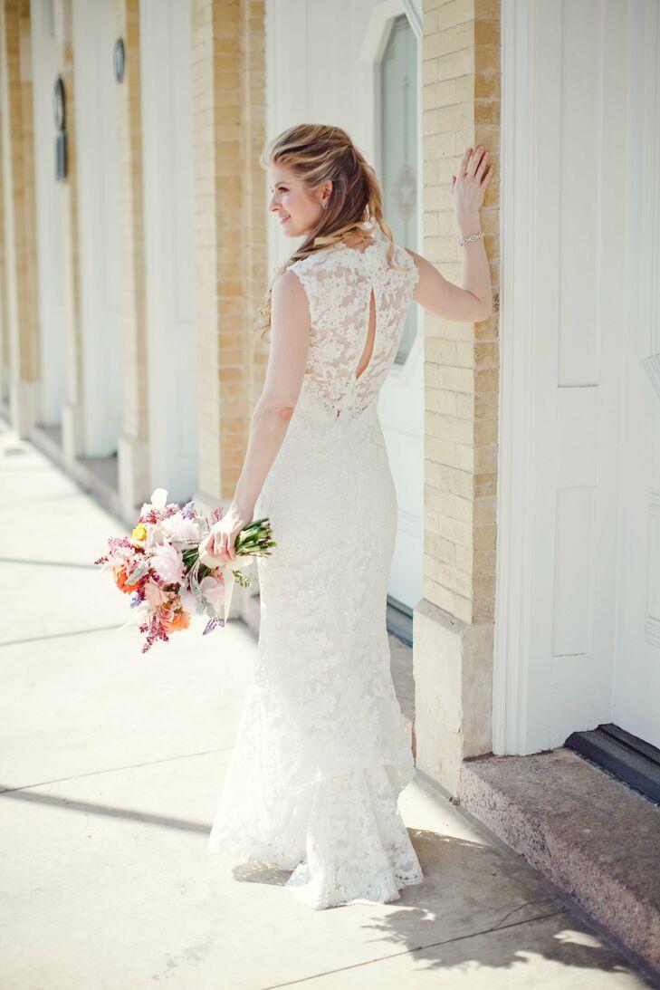 Lace Amsale Gown