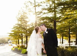 The Bride Claire Portwood, 29, an account executive at WFAA-TV Channel 8 The Groom Carl Lumsden, 28, a Dallas firefighter The Date> November 5  Stayin