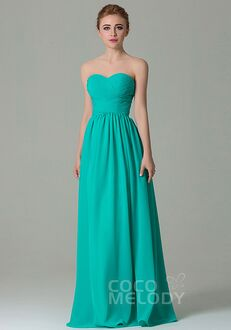 CocoMelody Bridesmaid Dresses COZF1500C Sweetheart Bridesmaid Dress