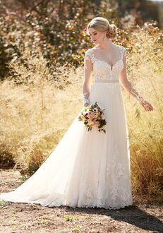 Essense of Australia D2038 A-Line Wedding Dress