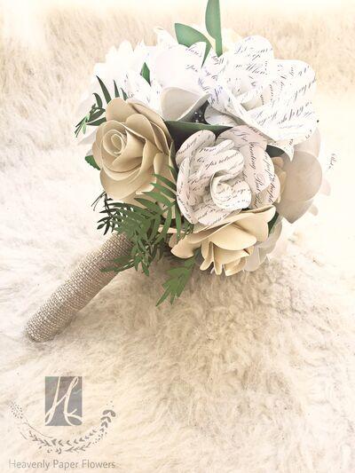 Heavenly Paper Flowers