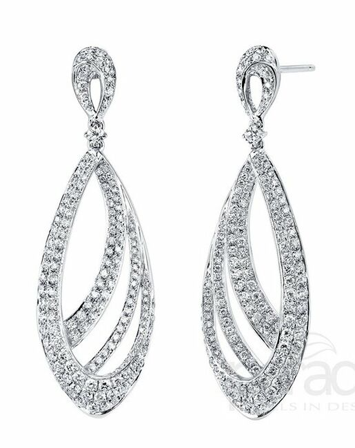 Parade Designs E3186A from the Lumiere Collection Wedding Earrings photo