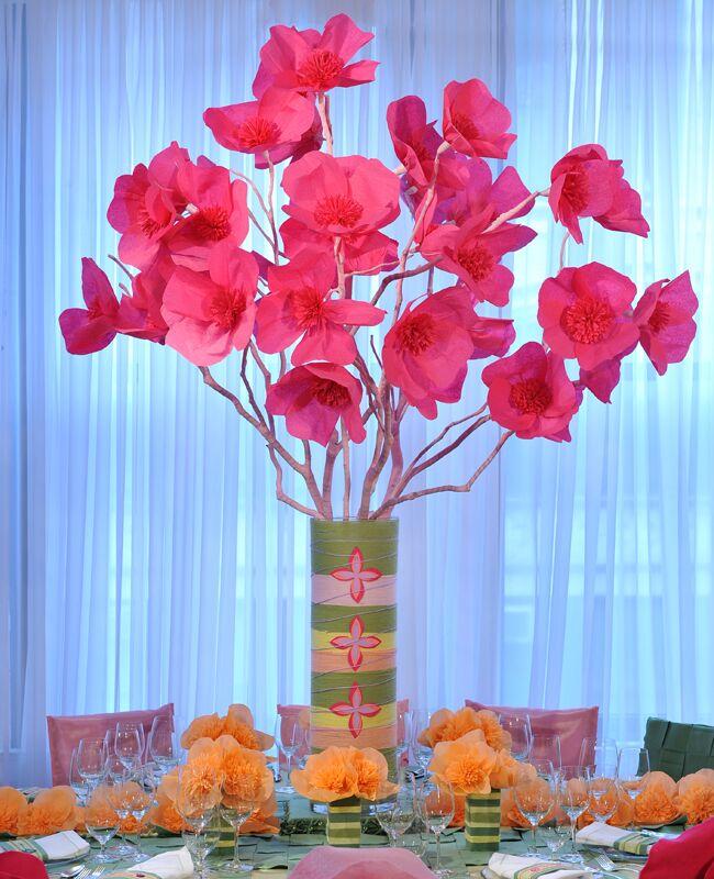 Tissue paper flower arrangements akbaeenw tissue paper flower arrangements mightylinksfo