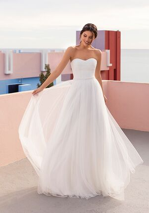WHITE ONE ESSENTIALS MERCURY Ball Gown Wedding Dress