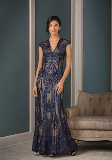 Jade Couture Mother of the Bride by Jasmine K188001 Blue Mother Of The Bride Dress