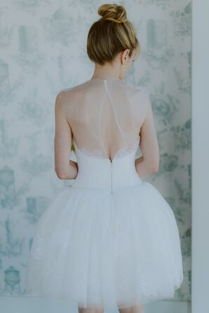 Short Vera Wang Wedding Dress