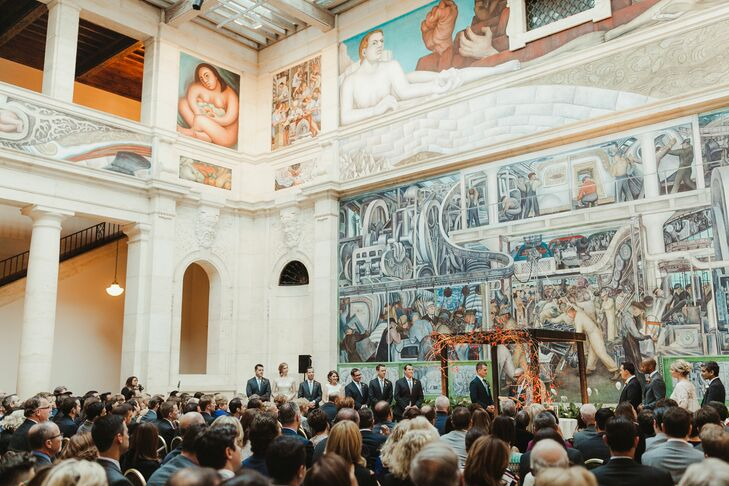 Diego Rivera Murals Backdrop