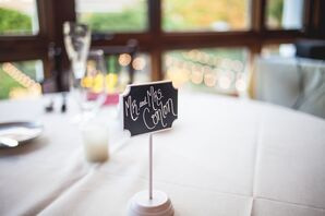 Miniature Chalkboard Escort Cards