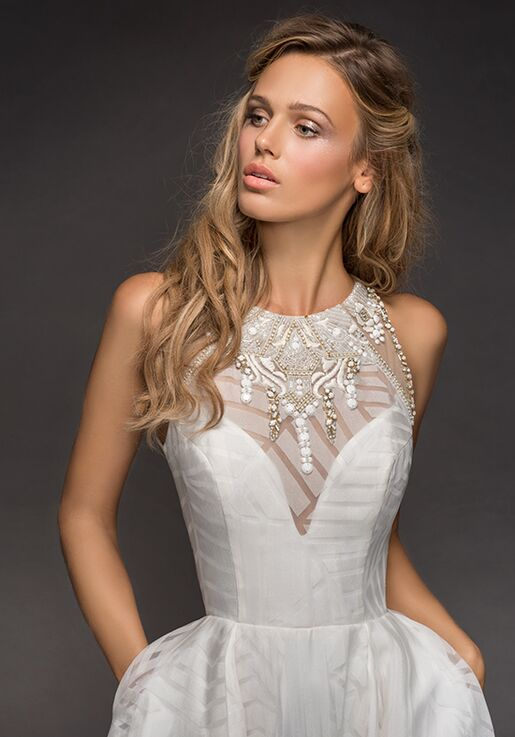 Hayley Paige 6812-Nirvana A-Line Wedding Dress