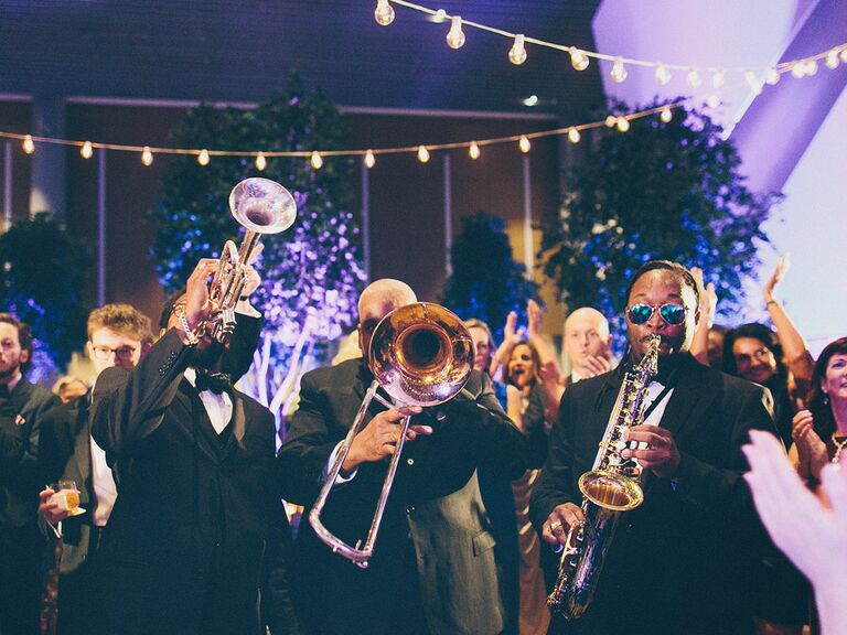 Brass wedding band