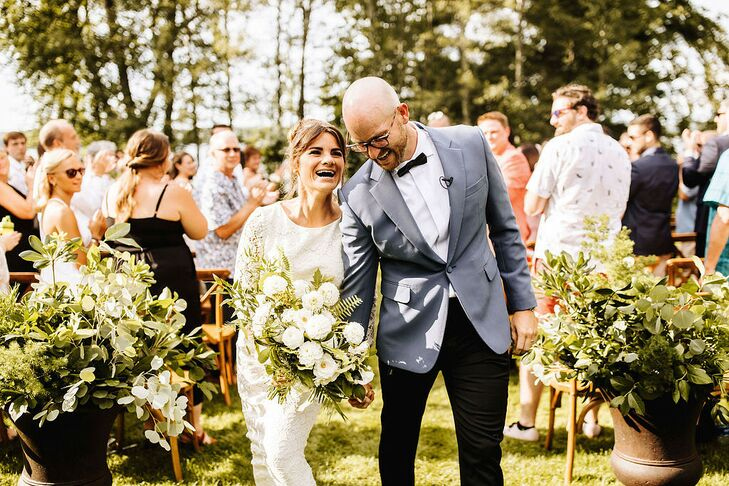 Classic, Rustic Recessional at Stout's Island Lodge in Birchwood, Wisconsin
