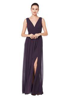 Bill Levkoff 7082 V-Neck Bridesmaid Dress