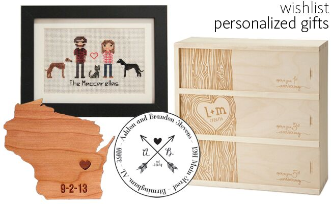Personalized Gifts | blog.TheKnot.com