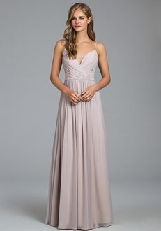 Hayley Paige Occasions 5800 V-Neck Bridesmaid Dress