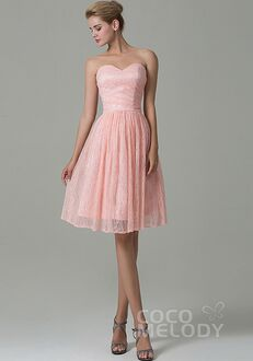 CocoMelody Bridesmaid Dresses COZK16008 Sweetheart Bridesmaid Dress