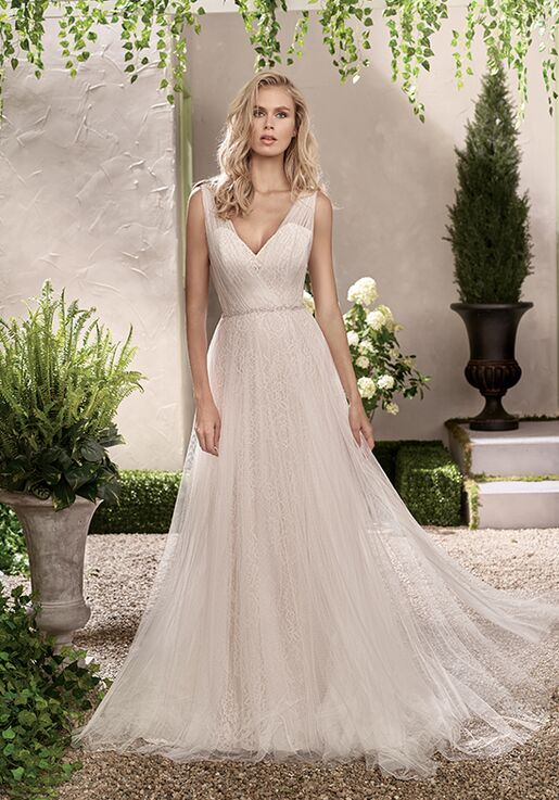 27c6d984db59e Jasmine Collection F191002 Wedding Dress | The Knot