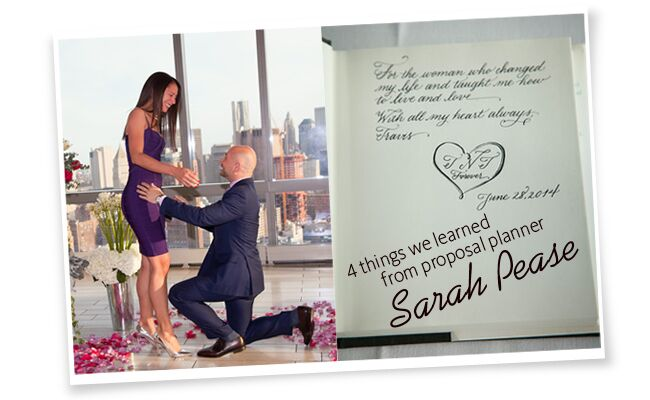 4 Things We Learned From Proposal Planner Sarah Pease | Paparazzi Proposals | Blog.TheKnot.com