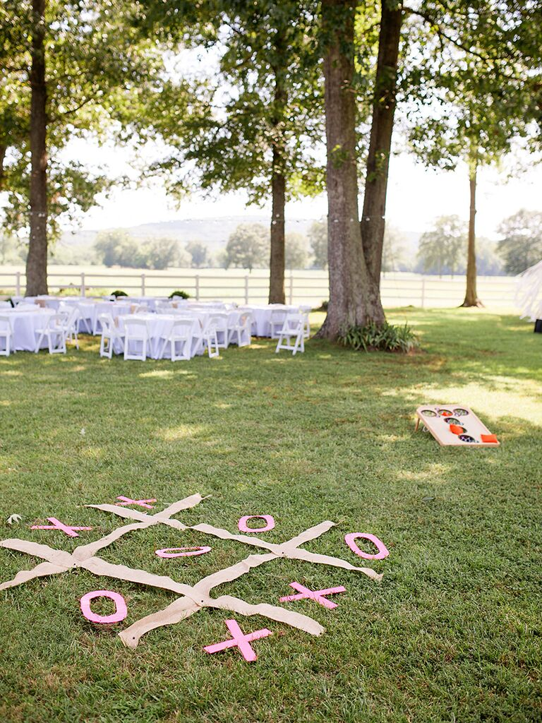 Backyard Wedding Games 15 backyard barbecue ideas for a fun wedding reception