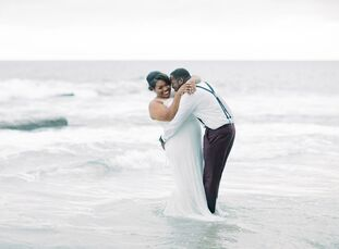 To celebrate their union, Sanndy and Marquis planned a wedding in Newport Beach, California, that was packed with fun details. To kick off the wedding