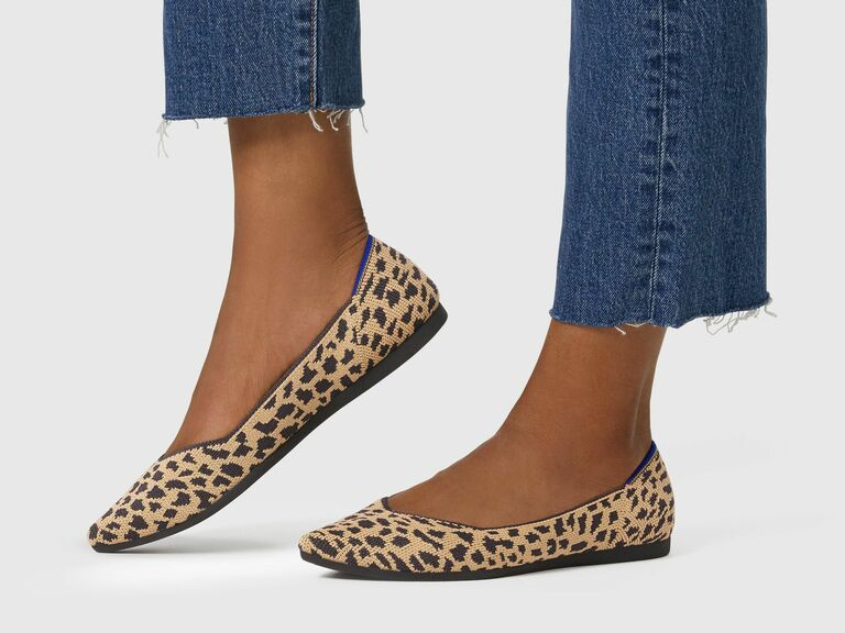 Rothy's animal print flats gift for wife