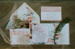 Fairy-Tale Garden Wedding Invitations