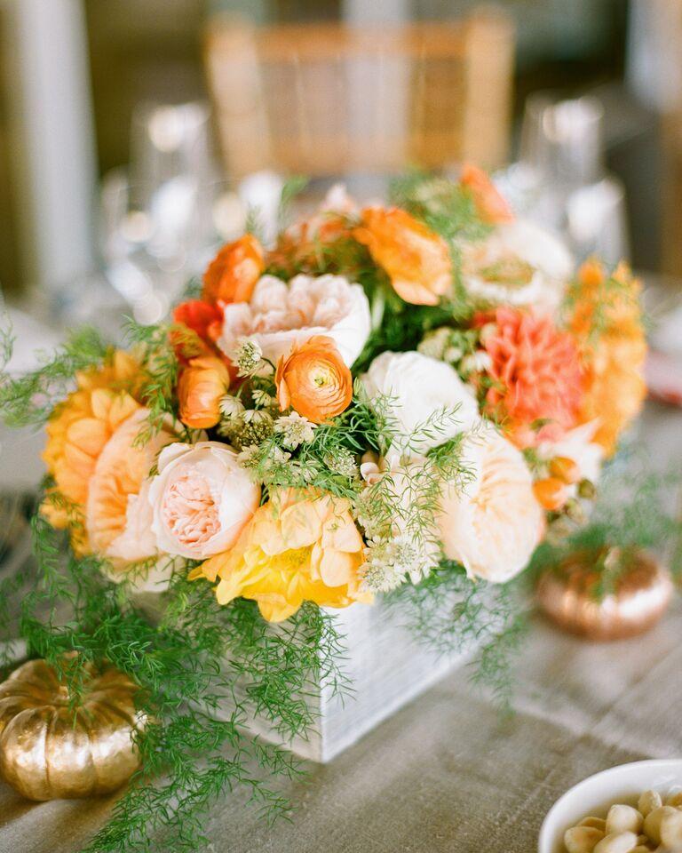 Wedding Flowers Reception Centerpieces By Season