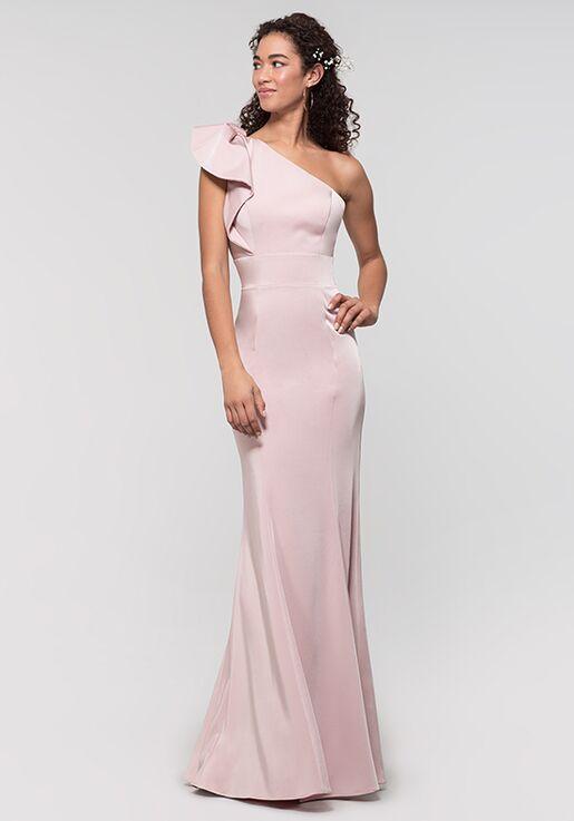 Kleinfeld Bridesmaid KL-200134 One Shoulder Bridesmaid Dress