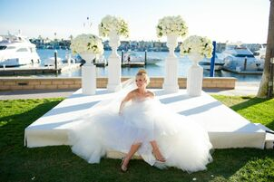 Wedding reception venues in orange county ca the knot balboa bay resort junglespirit Image collections