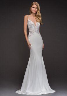 Blush by Hayley Paige 1808-Xenia Sheath Wedding Dress