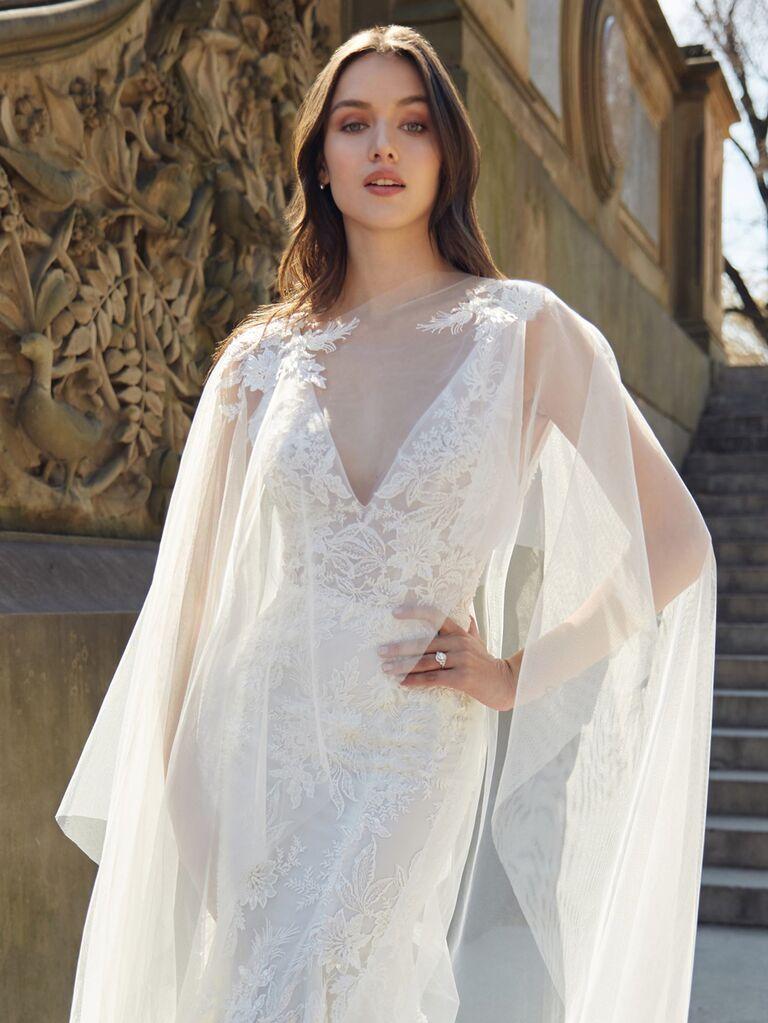 a8dc4f050c49 Bliss Monique Lhuillier Spring 2020: Bridal Fashion Week Photos
